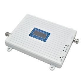 Трехдиапазонный усилитель 2G GSM / 3G / 4G (Репитер) сигнала Repeater (900MHz / 2100MHz / 2600MHz) КОМПЛЕКТ С КАБЕЛЕМ И АНТЕННАМИ