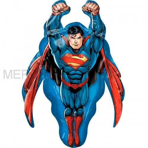 "Шар фигура ""Супермен"""