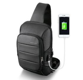 Рюкзак Mark Ryden 2018 New Sling Bag (с внешним USB) черный