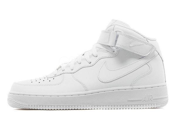 Nike Air Force 1 Mid White (GS)
