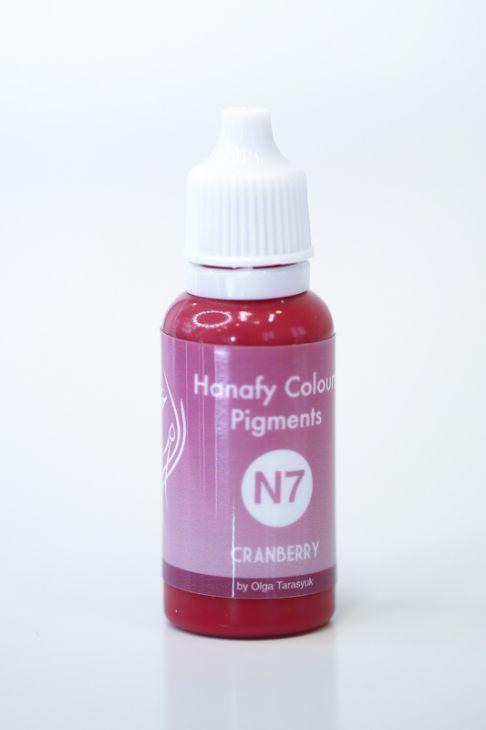 Пигменты для губ Hanafy Colours Pigments N7 Cranberry