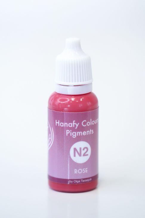 Пигменты для губ Hanafy Colours Pigments №2