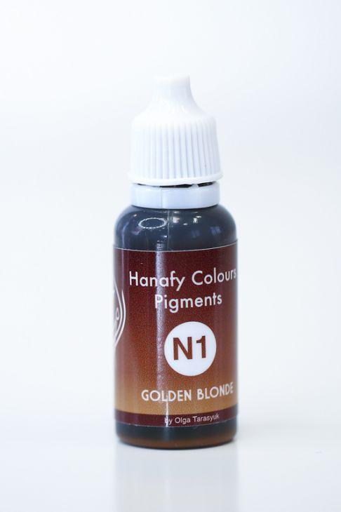 Пигменты для бровей Hanafy Colours Pigments N1 Golden Blonde