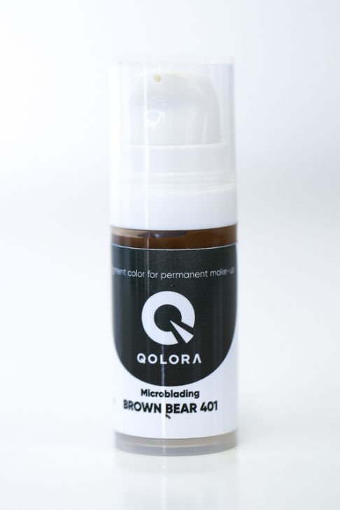 Пигменты QOLORA Microblanding Brown Bear 401
