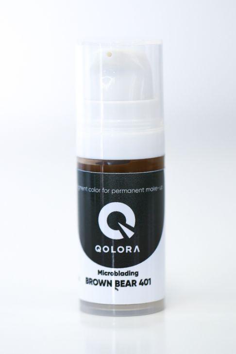 Пигменты QOLORA Microblanding Brown Bear 401