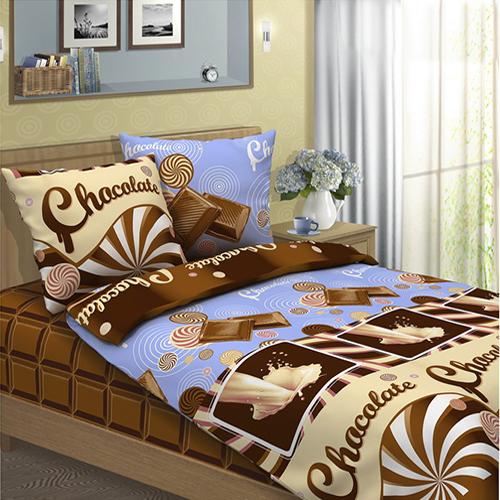 Шоколад постельное белье бязь