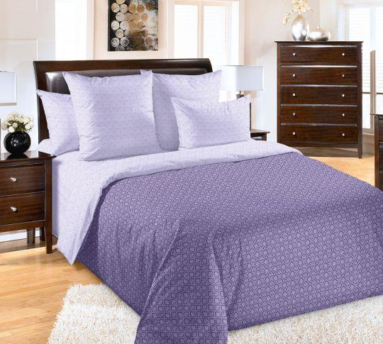 Этюд фиолетовый постельное белье Сатин
