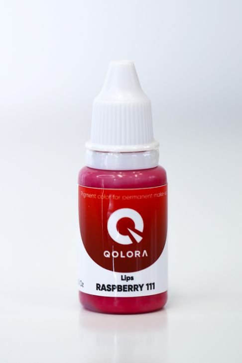 Пигменты QOLORA Lips Raspberry 111