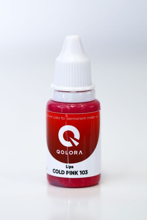 Пигменты QOLORA Lips Cold Pink 103