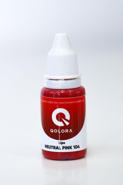 Пигменты QOLORA Lips Neutral Pink 104
