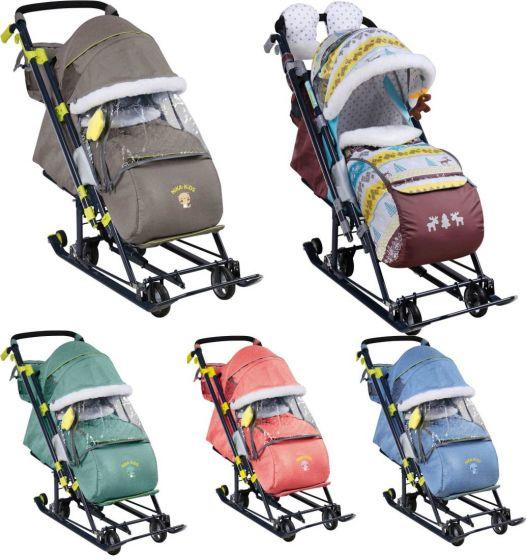 Санки коляска Ника Детям 7-7