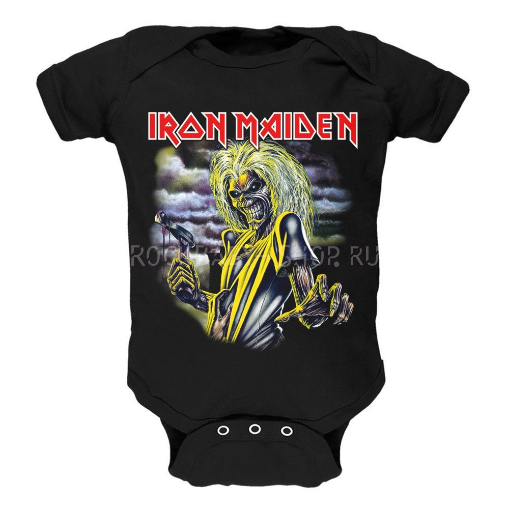 Детский боди Iron Maiden