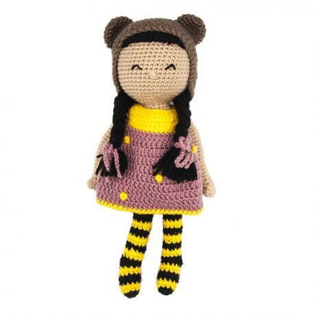 Игрушка вязанная Кукла Эльза