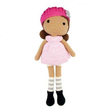 Игрушка вязанная Кукла Эрика