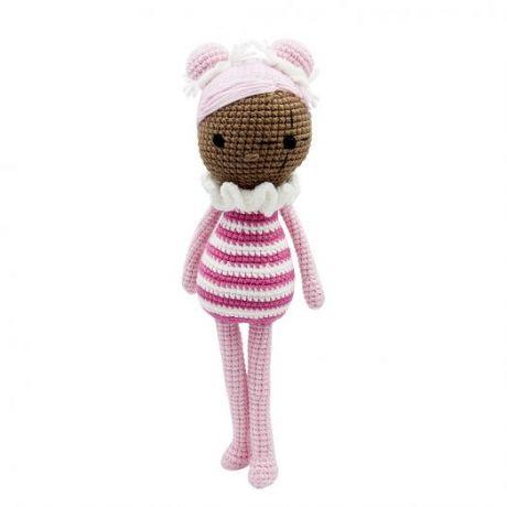 Игрушка вязанная Кукла Белла