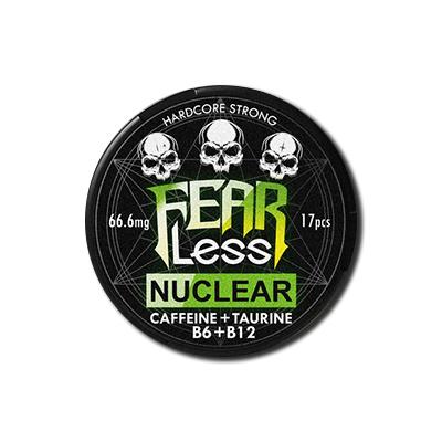 Снюс Fearless Nuclear + caffeine + Taurine + B6 + B12