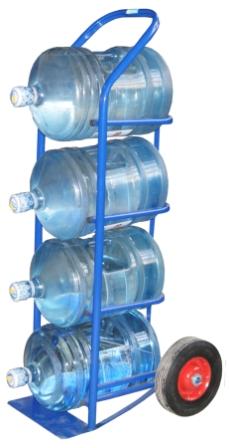 Тележка для перевозки баллонов с водой (19 литров)