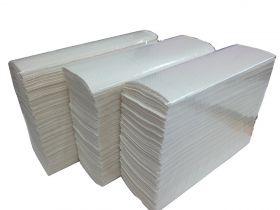 Полотенца бум лист 2сл Белые 200л (Z) ПZ2.2/20