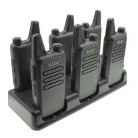 Зарядное устройство для 6 рации WLN KD-C1 (WLN KD-C1 Plus)