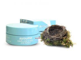 AYOUME Swallow's Nest Eye Patch 60шт - Патчи для глаз с экстрактом ласточкиного гнезда