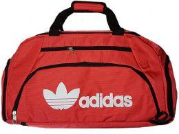 Спортивная сумка-рюкзак с отделом для обуви цвет красный