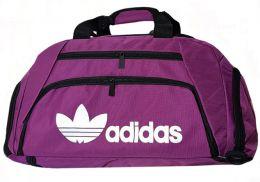 Спортивная сумка-рюкзак с отделом для обуви цвет сиреневый