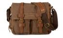 """Стильная сумка  """"AM-LEGEND"""" коричневая"""