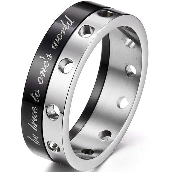 Вращающееся кольцо Будь Верным