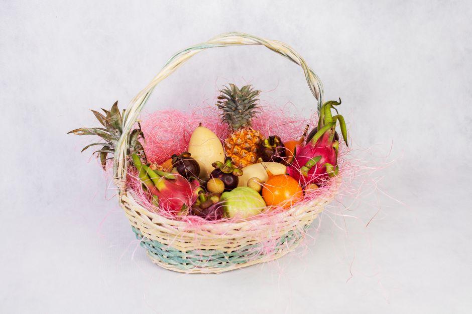 Экзотические фрукты набор