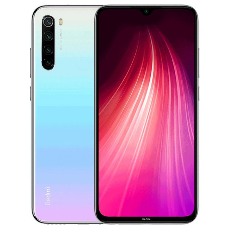 Смартфон Xiaomi Redmi Note 8 4/64GB White