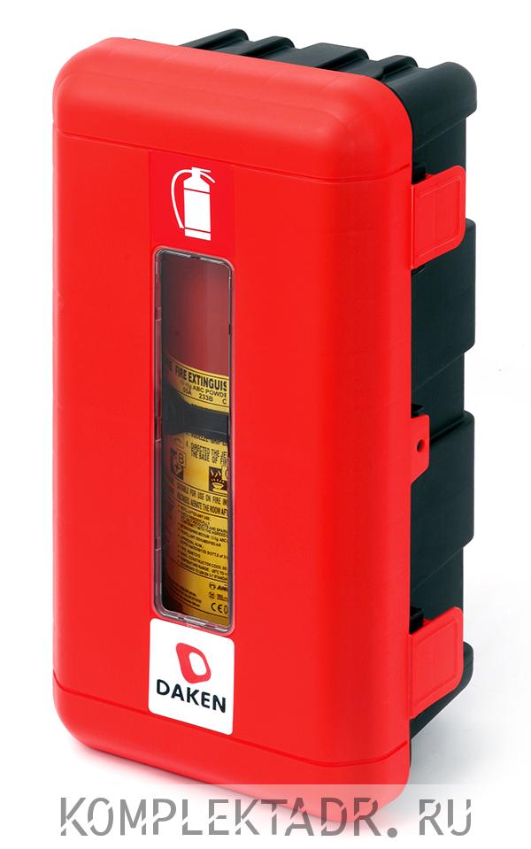 Пенал для огнетушителя на 6-9 кг на бензовоз (Арт: 70011DRM)