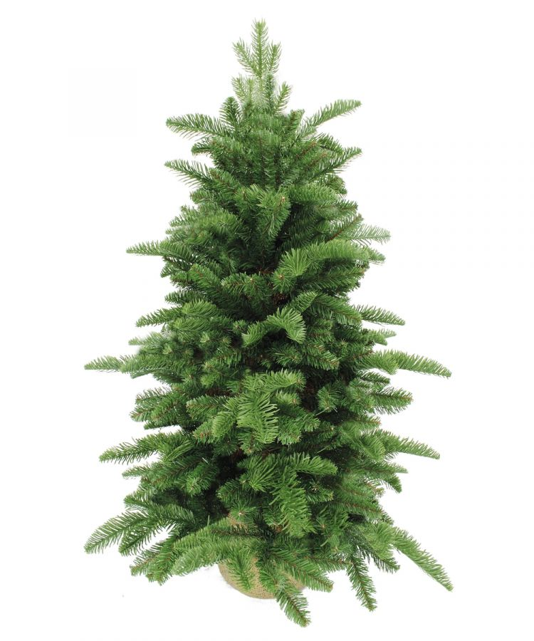 Искусственная елка Нормандия 90 см в мешочке темно-зеленая