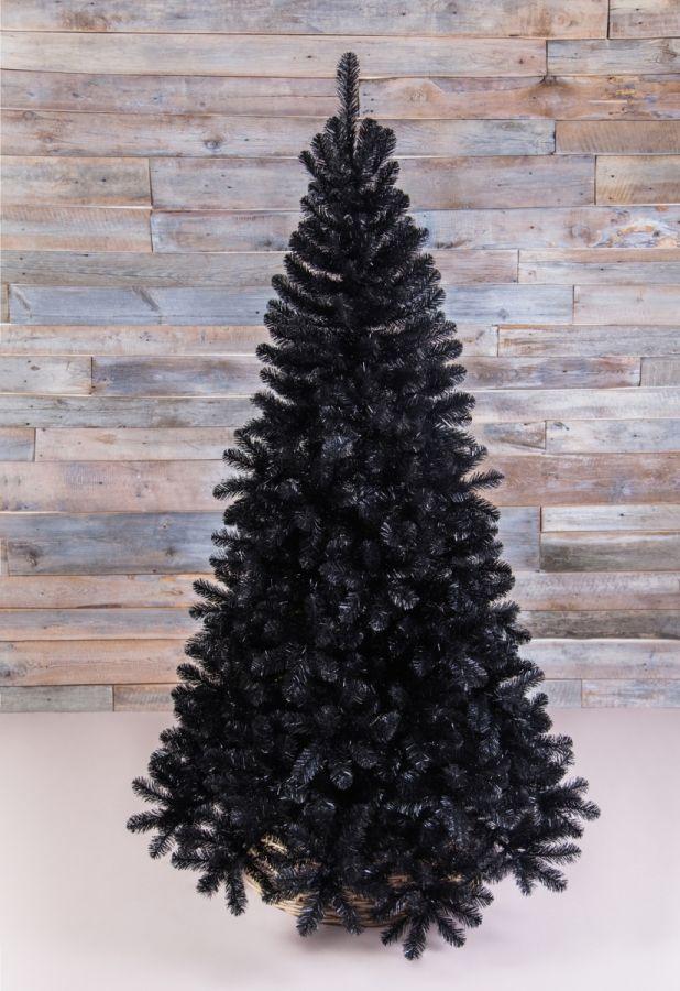 Искусственная сосна Санкт-Петербург 185 см черная