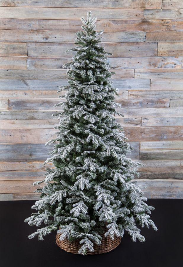 Искусственная елка Сибирская 185 см заснеженная