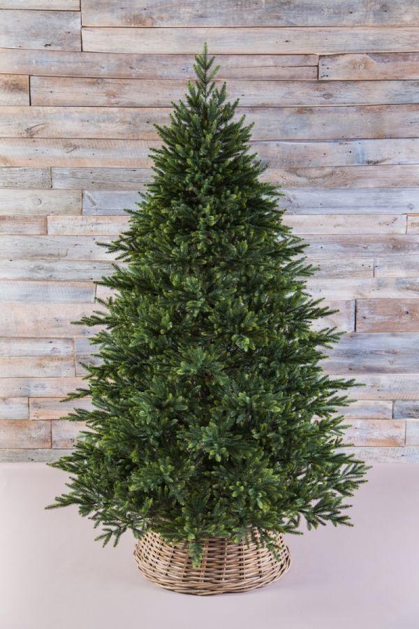 Искусственная елка Королевская премиум full PE 215 см зеленая