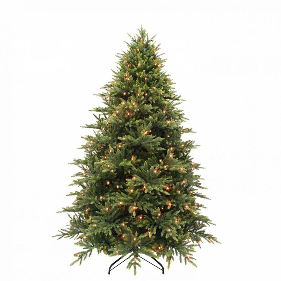 Искусственная елка Королевская премиум full PE 215 см 328 ламп зеленая