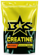 BINASPORT CREATINE POWDER 200 Г АПЕЛЬСИН