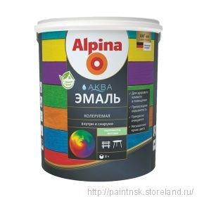 Эмаль акриловая Альпина Аква / Alpina Aqua