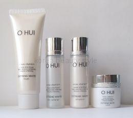 O HUI EXTREME WHITE snow vitamin™  МИНИ НАБОР  4 миниатюр средств отбеливающей линии EXTREME WHITE snow vitamin™  от бренда O HUI.