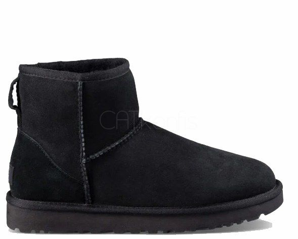 "UGG CLASSIC MINI II BOOT ""BLACK"""