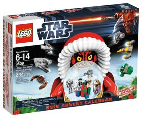 9509 Лего Новогодний календарь 2012