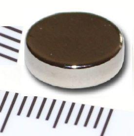 Магнит неодимовый диск 10х3 мм