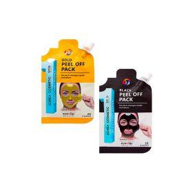 EYENLIP Pocket Pouch Line Black Peel Off Pack 25g - Очищающая маска-плёнка
