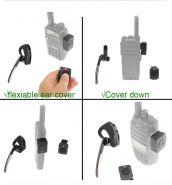 Гарнитура Bluetooth HB-6A (2) для радиостанций Baofeng, Kenwood, TYT