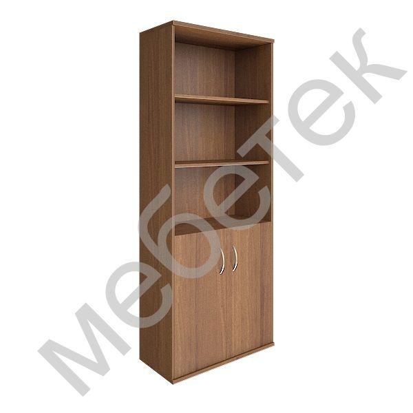Шкаф высокий широкий (2 низкие двери ЛДСП)