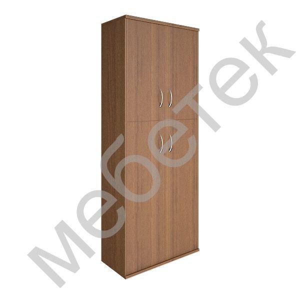 Шкаф высокий широкий (2 средние двери ЛДСП, 2 низкие двери ЛДСП)