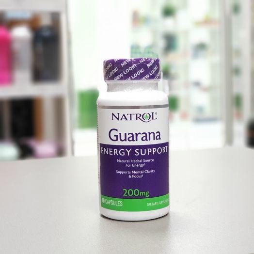 Natrol - Guarana 200 mg (90 капс.)