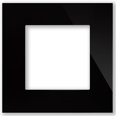 Рамка Черная CGSS P101 BC (без механизмов)