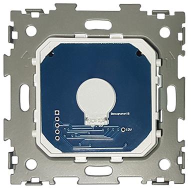 Диммер сенсорный однолинейный с ДУ CGSS WT-F33GR (механизм)