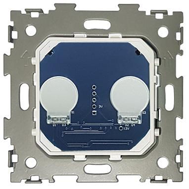 Выключатель сенсорный проходной на две линии с радиоуправлением CGSS WT-M02PR (механизм)